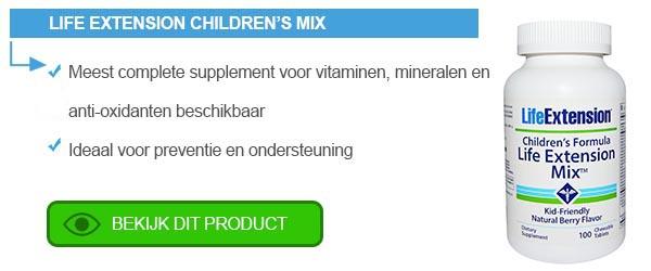 De (on)zin van vitamines voor kinderen