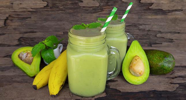 Banaan en avocado verminderen het risico op aderverkalking