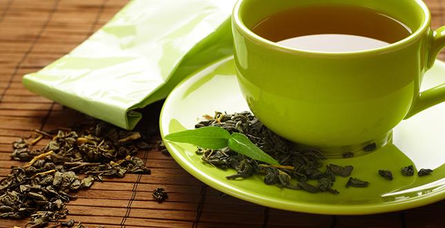 Groene thee bevordert gezonde tanden en tandvlees