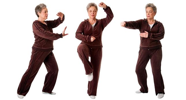 Tai Chi helpt je fit te houden bij het ouder worden
