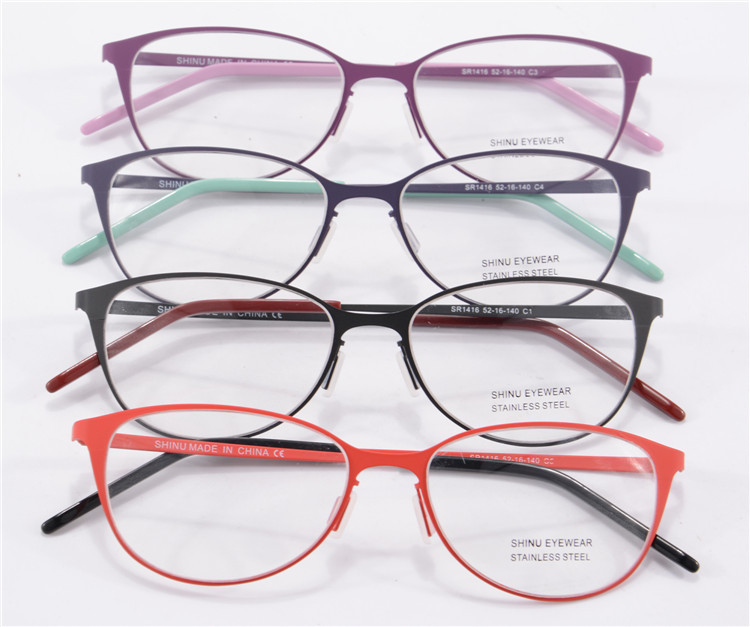 New Arrival Brand Designer Glasses Frame High Quality Rubber Pait ...
