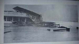 Dollies in Rehoboth after the storm of 62