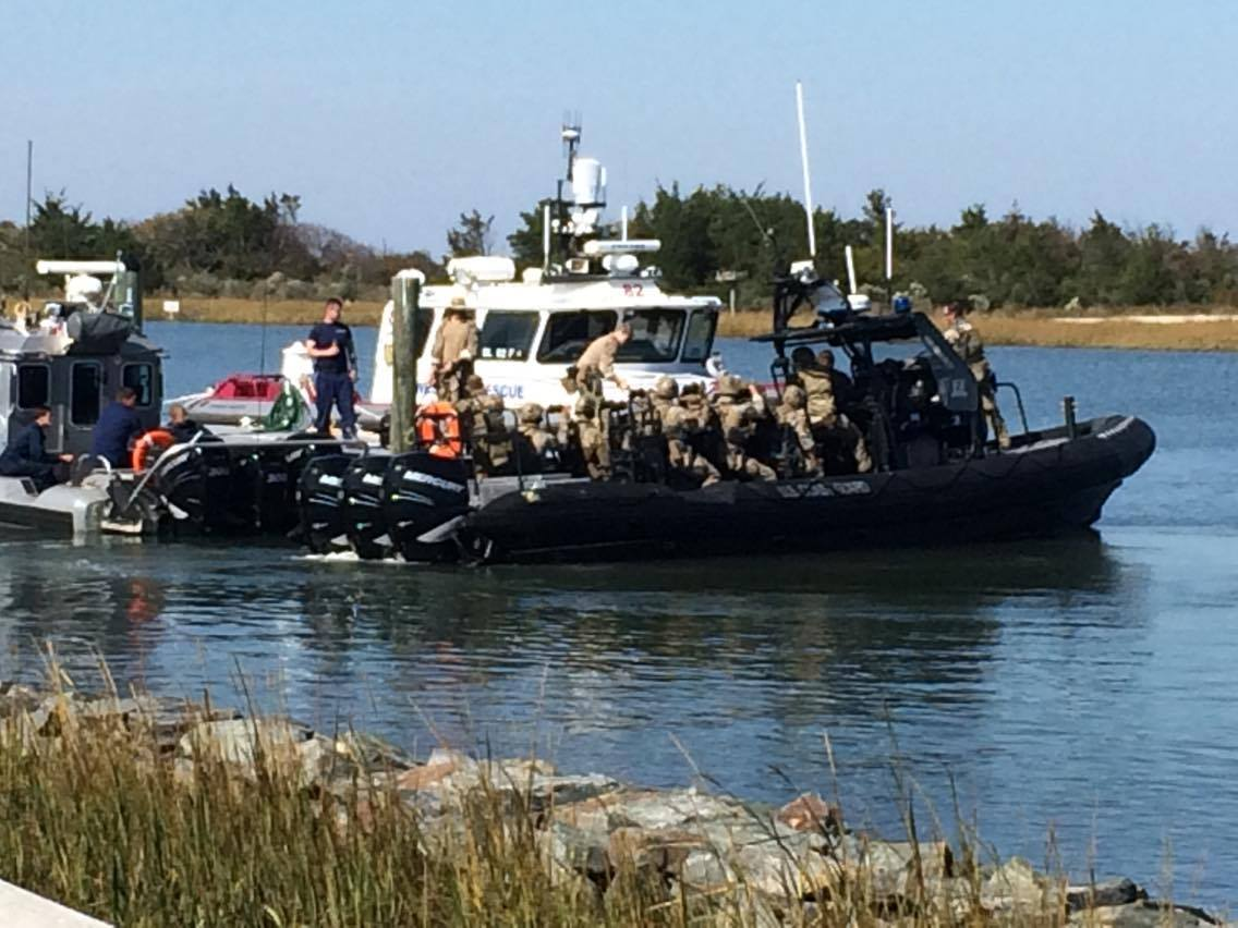 coast guard training, delaware bay, army training, rooseveltinlet, lewes boat rtamp
