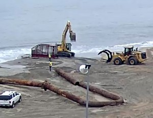 Rehoboth Beach Replenishment Project, delaware, sussex county, cape henlopen state park, dewey beach