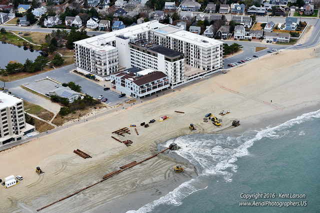 Rehoboth Beach, replenishmentproject, sand dredging, delaware,sussex county, ACOE, army corp of engineers, boardwalk, ocean