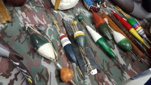 collectible hand carved, painted bobbers, milford collectible show, delaware, sussex county, kent county, Delaware Vintage Hunting & Fishing Memorabilia Show & Sale