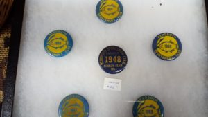 Rehoboth Sportsmen's club pins,collectibles show, delaware, sussex county, kent county, old fishing club,