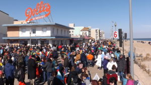 rehoboth boardwalk, delaware, polar plunge, sussex county, lewes, winter on the beach, dolleys popcorn,