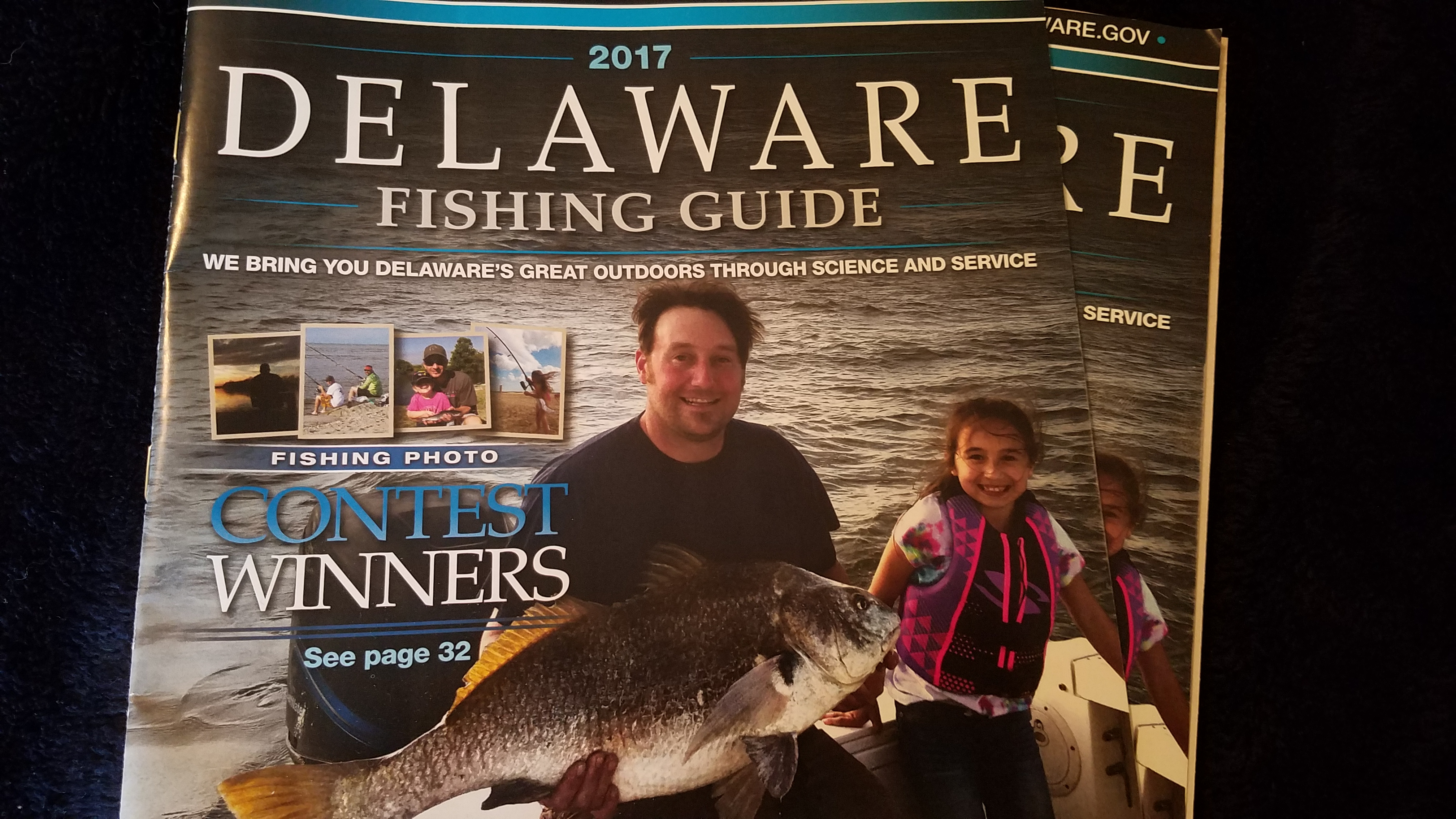 2017 Delaware Fishing Guide, sussex county, kent county, new castle county, creel lmits for delaware, sportfishing tournament