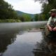 Micah Dammeyer, Knee Deep Fly Fishing LLC, fly tying, guided tours, marylannd, delaware, sussex county, gun powder falls,