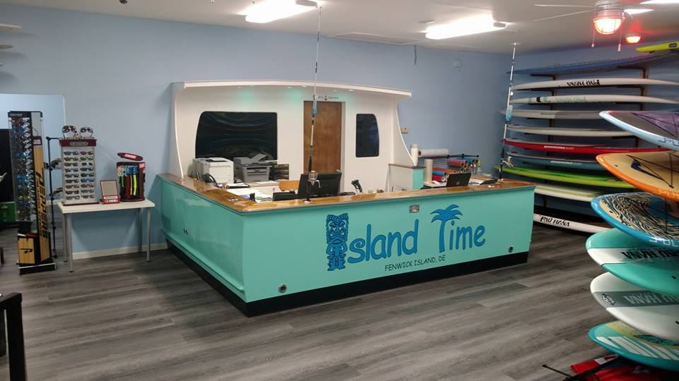 Island Watersports, fenwick isladn, delaware, maryland, boat rentals, fuel docks, marinas, SUP, stand up paddle boards, kayak rentals, bait and tackle, fishing gear, sky boarding
