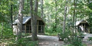 cape henlopen state park, cabins, camping, delaware, sussex county