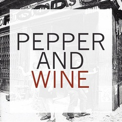 Pepper and wine