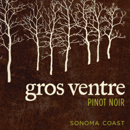 Gros Ventre Cellars Sonoma Coast Pinot Noir 2014