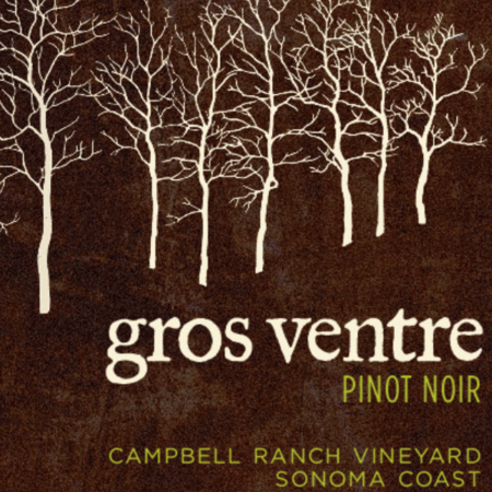 Gros Ventre Cellars Campbell Ranch Vineyard Pinot Noir 2014