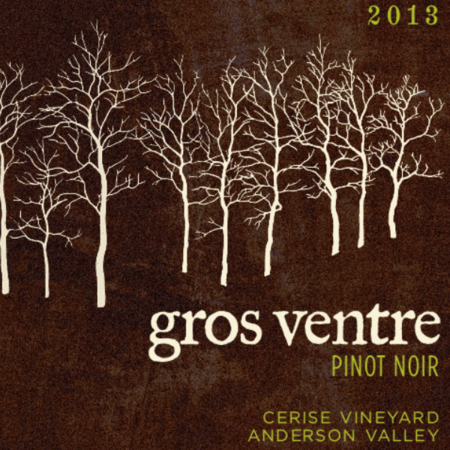 Gros Ventre Cellars Cerise Vineyard Pinot Noir 2013