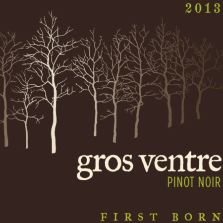 Gros Ventre Cellars First Born Pinot Noir 2013
