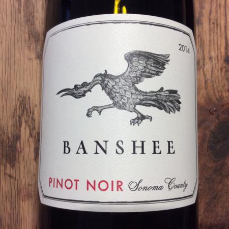 Banshee Sonoma County Pinot Noir 2015