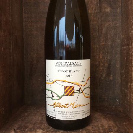 Albert Mann Alsace Pinot Blanc 2013