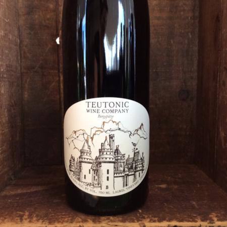 Teutonic Wine Company Bergspitze Laurel Vineyard White Label Pinot Noir 2014