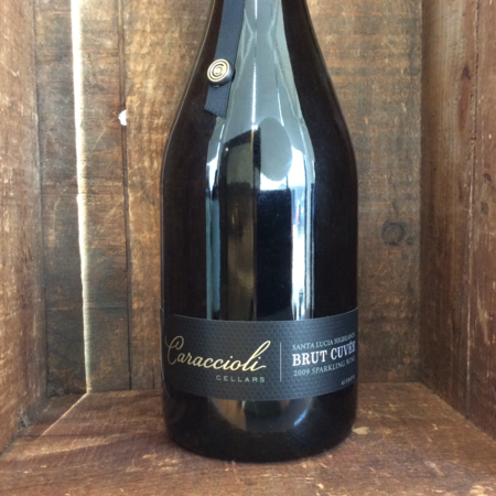 Caraccioli Cellars Brut Cuvée Santa Lucia Highlands Sparkling Pinot Noir Chardonnay 2009