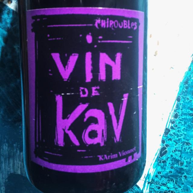 Vin de Kav Chiroubles Gamay 2012