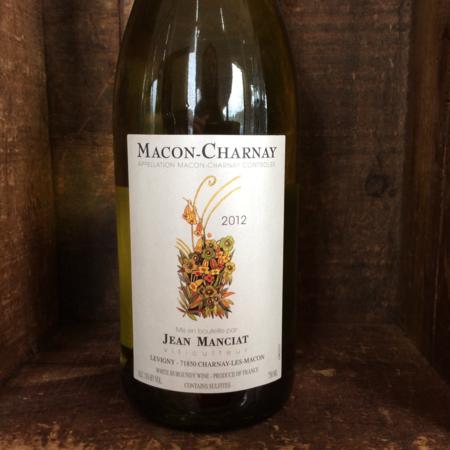 Jean Manciat Franclieu Mâcon Charnay Chardonnay 2012