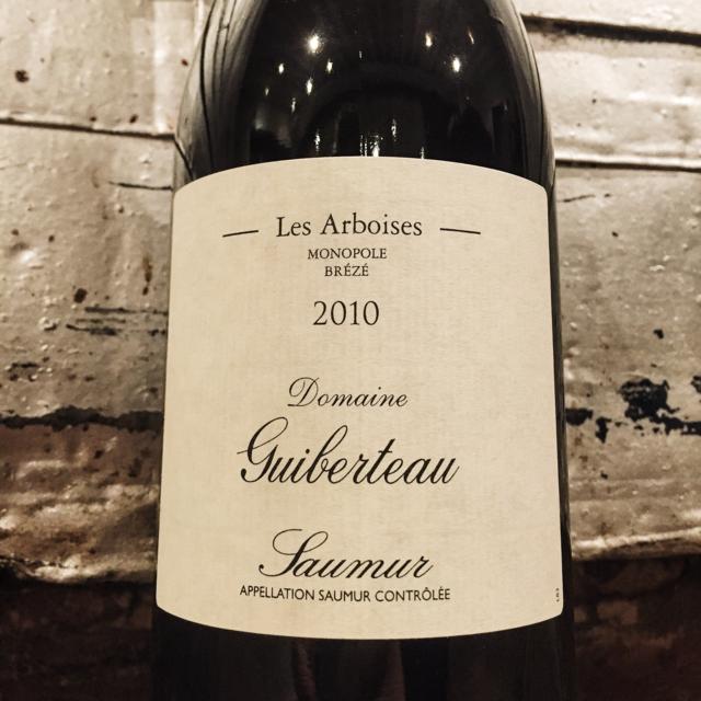 Les Arboises Saumur Cabernet Franc 2010