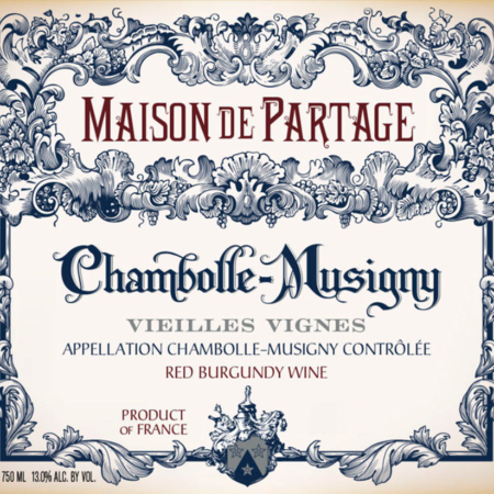 Maison de Partage Chambolle-Musigny Vieilles Vignes Pinot Noir 2004