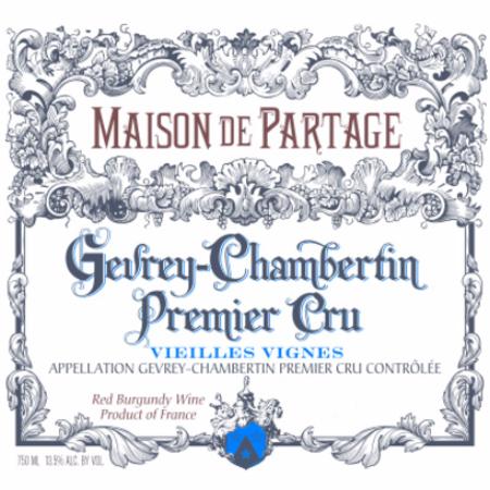 Maison de Partage Gevrey-Chambertin 1er Cru Vieilles Vignes Pinot Noir 2001