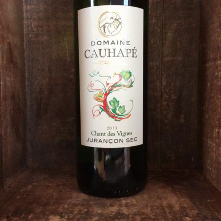 Domaine Cauhapé Chant des Vignes Jurançon Sec Gros Manseng Petit Courbu 2013