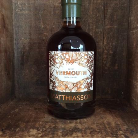 Matthiasson Napa Valley Sweet Vermouth NV (375ml)