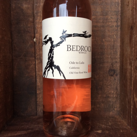 Bedrock Wine Co. Ode to Lulu California Old Vine Rosé Mourvèdre Blend 2015
