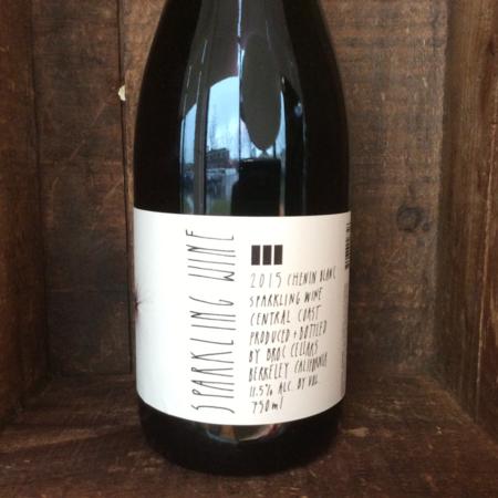 Broc Cellars Central Coast Sparkling Chenin Blanc 2016