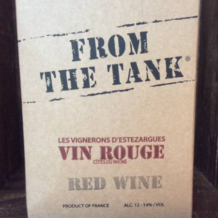 Les Vignerons d'Estézargues From The Tank Collection Red Rhone Blend  NV