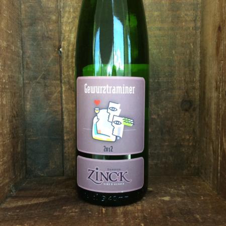 Domaine Zinck Gewürztraminer 2012