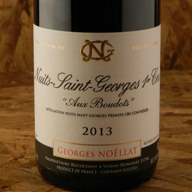Les Boudots Nuits St. Georges 1er Cru Pinot Noir 2013