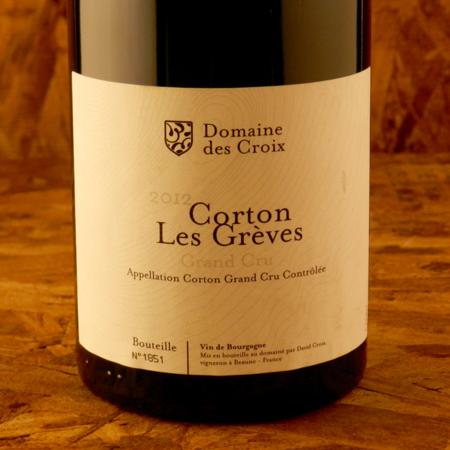 Domaine des Croix (David Croix) Les Grèves Corton Grand Cru Pinot Noir 2012