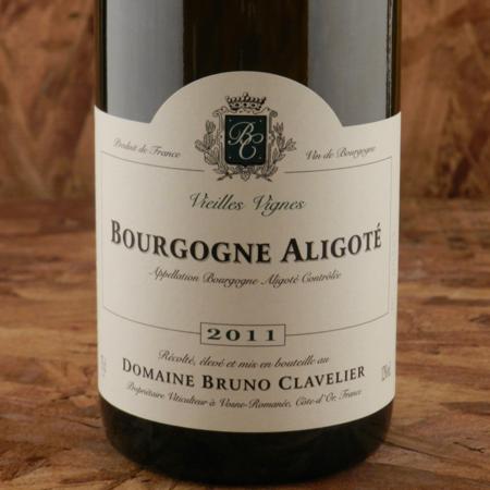 Domaine Bruno Clavelier Vieilles Vignes Bourgogne Aligoté 2011