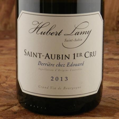 Hubert Lamy Derriére Chez Edouard Saint-Aubin 1er Cru Chardonnay 2013
