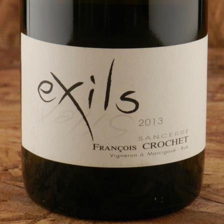 François Crochet Exils Sancerre Sauvignon Blanc 2013