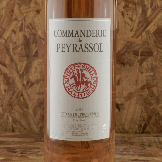Commanderie de Peyrassol Côtes de Provence Rosé Blend 2015