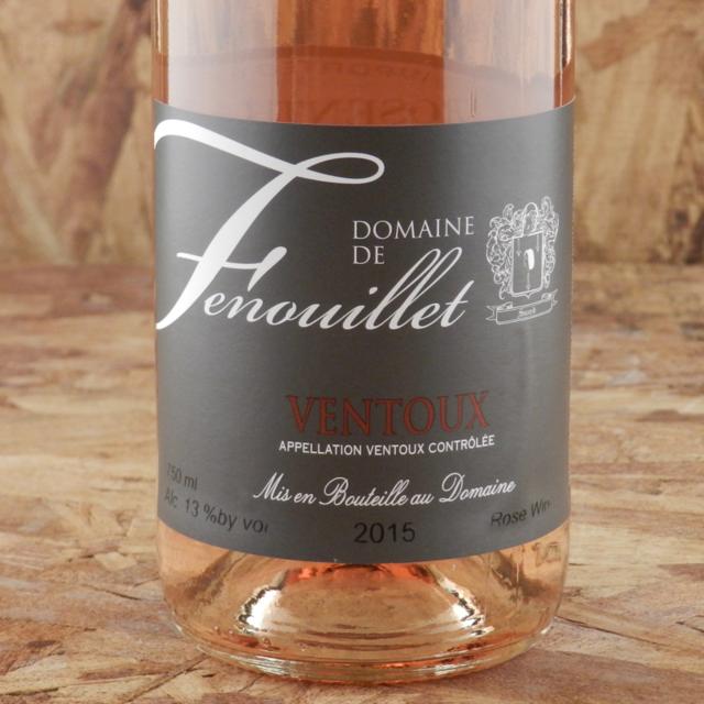 Ventoux Rosé Cinsault Blend 2015