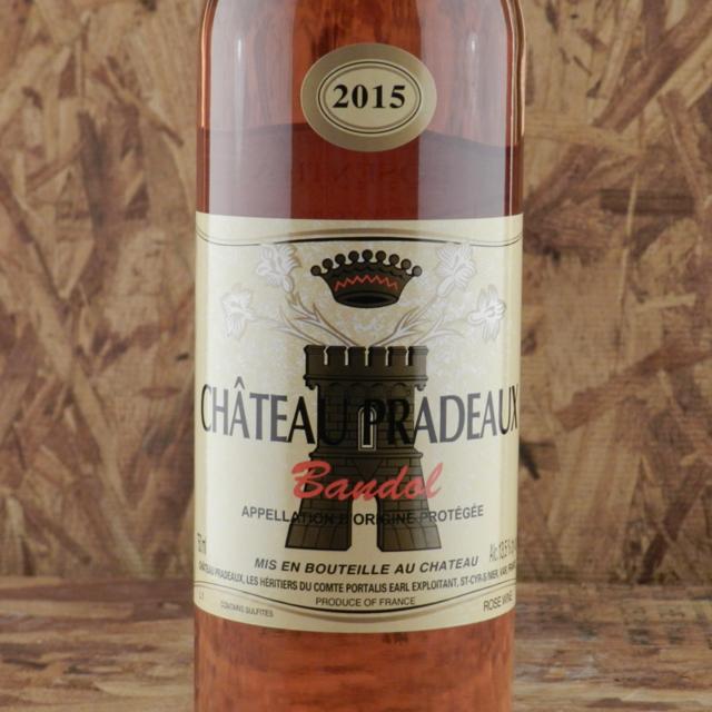 Bandol Rosé Mourvedre Cinsault 2015