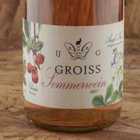 Weingut Groiss Angel's Kiss Sommerwein Rosé Pinot Noir 2015