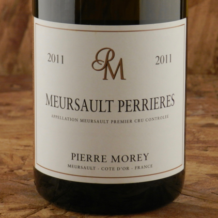 Pierre Morey Les Perrières Meursault 1er Cru Chardonnay 2011