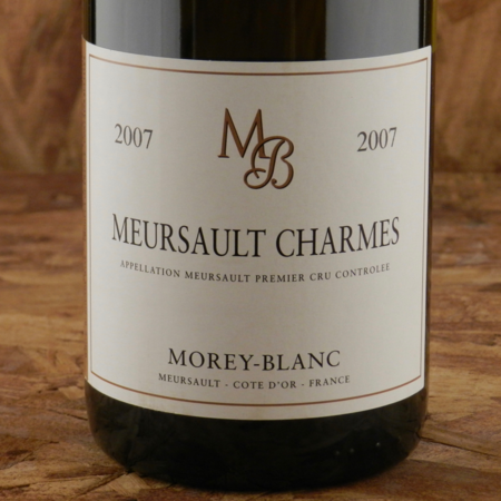 Morey-Blanc Charmes Meursault 1er Cru Chardonnay 2007