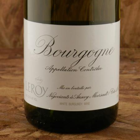 Domaine Leroy Bourgogne Chardonnay 2012