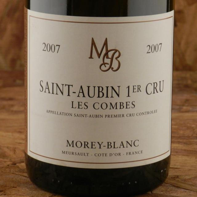 Les Combes Saint-Aubin 1er Cru Chardonnay 2007