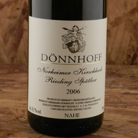 Dönnhoff  Norheimer Kirschheck Spätlese Riesling   2006